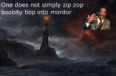 The Cos warns the Fellowship