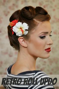 Miraculous Pinup Retro And Hair On Pinterest Short Hairstyles For Black Women Fulllsitofus