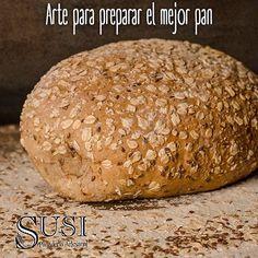 En #SusiPanaderíaArtesanal nos caracterizamos por nuestros ingredientes de la mejor calidad como la avena, el trigo, la quinua, el maíz y el sabor y arte para preparar el mejor pan, siempre fresco. Te esperamos en Oviedo, local 3179 y el Mall Ventura