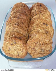recepty - zdravé Natural Hair Styles pics of natural hair styles Oat Cookies, Sweet Cookies, Healthy Baking, Healthy Snacks, Low Carb Recipes, Healthy Recipes, Cake Recipes, Dessert Recipes, Good Food