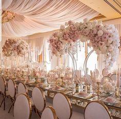 Metal Wedding Arch, Gold Wedding, Elegant Wedding, Floral Wedding, Wedding Colors, Wedding Flowers, Dream Wedding, Glamorous Wedding, Metal Arch
