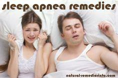 Signs, symptoms and remedies of sleep apnea. 10 natural sleep apnea remedies