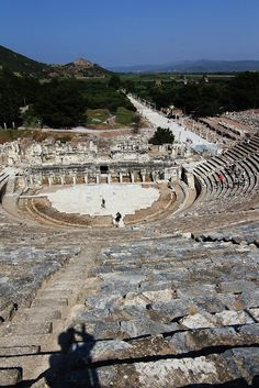 Antic theater in ancient city of #Ephesus