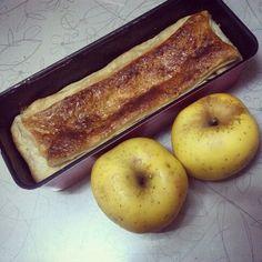 Apple pie con canela