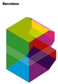 emphasis on the cube to reference pixels but transparent colors reference RGB/negatives