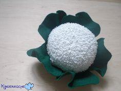 Blumenkohl aus Filz