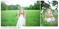 Photos with a field background