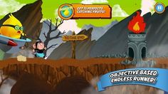 Welcome to Run Run Roy™! Blazing Fast Acrobatic Arcade Monkey Action (and more descriptors too!).