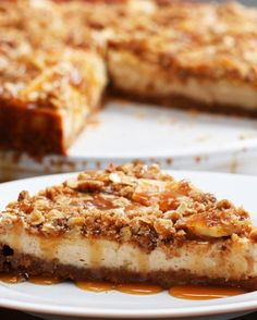 Caramel Apple Cheesecake | Caramel Apple Cheesecake