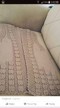 openwork-tulip-organ-sampling-the-vest models - Knitting Knitting Designs, Knitting Patterns Free, Knit Patterns, Free Knitting, Knitting Projects, Tunisian Crochet, Knit Crochet, Knitting Yarn, Baby Knitting