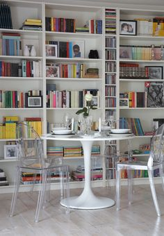 Ikea bookcases@Sunny@Jill Diamond Winfrey