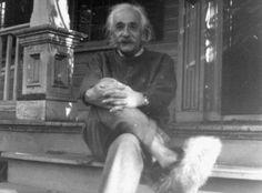 Be smart like Einstein. Wear #slippers