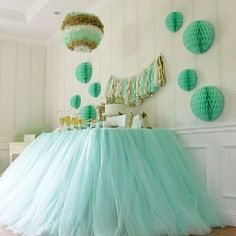 tutu table décor for a princess party?