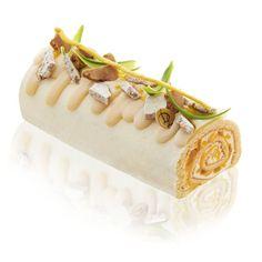 Bûche Bambou - Laurent Duchêne Log Cake, Yule Log, Baking And Pastry, Everyday Food, Food Design, Vanilla Cake, Bakery, Sweets, Cake Rolls