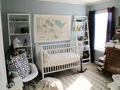 Modern Nursery Design Ideas @DunstanBabyL #Baby Learn more about all things babies http://www.dunstanbaby.com/