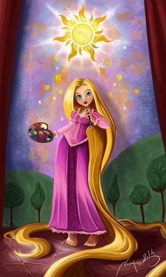 Rapunzel+-+Raiponce+-+Tangled+by+Noumenie.deviantart.com+on+@DeviantArt