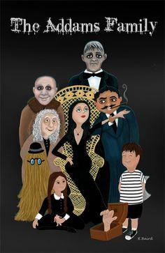 addams family - Roberta Baird