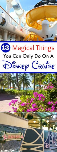 Thinking about a cruise vacation? Disney cruise lines goes above and beyond to be sure you have a magical vacation! Find out what you'll get on a Disney cruise that you won't get anyplace else. via @funmoneymom