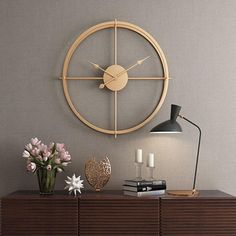 2019 Brief European Style Silent Watch Wall Clock Modern Design For Home Office Decorative Hanging Clocks Wall Home Decor - 2019 Brief European Style Silent Watch Wall Clock Modern Design For Home Office Decorative Hangin - Minimalist Clocks, Minimalist Decor, Minimalist Design, Home Office Design, House Design, Office Decor, Hanging Clock, Clock Art, Clock Decor