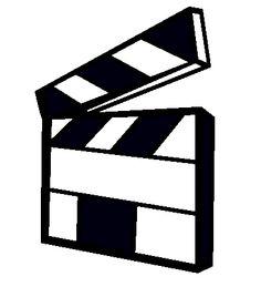 Dibujo para colorear Espectculo de cine en negro  Lugares para