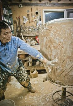 'A Beautiful Life' Ceramic artist Lee Kang Hyo, magnificent dance of applying slip, inspired