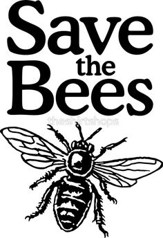 save the bees global warming bee Sticker decal car laptop