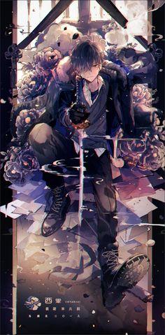 Anime Demon Boy, Anime Devil, Dark Anime Guys, Cool Anime Guys, Anime Warrior, Cute Anime Boy, Anime Art Girl, Anime Angel, Anime Neko