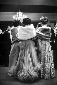Prince Aly Khan's party, 1959 Getty Images - HarpersBAZAAR.com