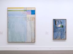 Striking Up a Conversation: The Baltimore Museum of Art Unites Matisse and Diebenkorn in a Glorious Exhibition Museum Of Modern Art, Art Museum, San Francisco Museums, Picasso Paintings, Richard Diebenkorn, Philadelphia Museum Of Art, Whitney Museum, Henri Matisse, Abstract Expressionism