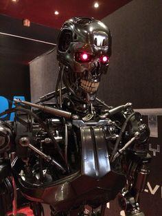 Bumped into this guy tonight #terminator #arnie