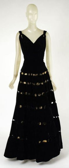 Vionnet dress ca. 1939