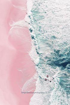 Aerial beach photography beach print ocean print large
