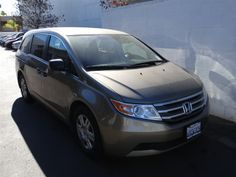 2011 Honda Odyssey, Brown, 18342693