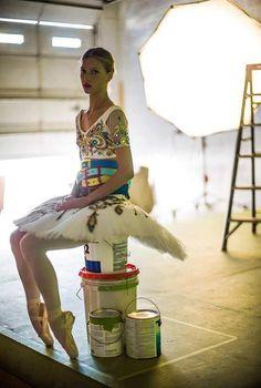 Keenan Kampa | An American Ballerina. #fashion