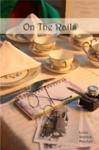 Margaret Kazmierczak spotlights On The Rails by Linda Shenton Matchett Amazon Card, Amazon Gifts, Sisters In Crime, Harvey Girls, Romantic Times, Victoria Sponge, History Classroom, Laughing And Crying, Book Title