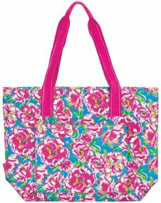 Lilly Pulitzer Lucky Charms Insulated Cooler Tote
