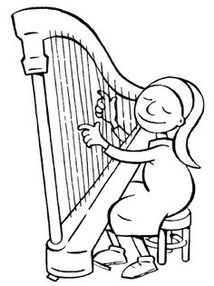 fille à la harpe Música - Pescant idees - Picasa Web Albums