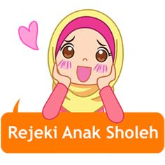 Fatima is very active and cheerful, she also look beautiful with her hijab. Let enjoy your conversations with her cute stickers.