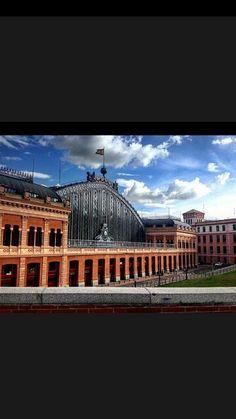 Estación de Atocha.Madrid.