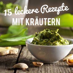 Bärlauch, Petersilie, Lavendel... Frühlingszeit ist Kräuterzeit! 11 Foodblogger zeigen, was sich mit den aromaintensiven Kräutern Leckeres zaubern lässt.