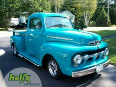1951 Ford F-1. I have owned 2 1951 Ford F-1 pickups .