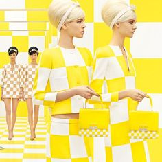 Reality Check: Louis Vuitton's New Ads Reprise Spring 2013 Runway Set @Louis Vuitton