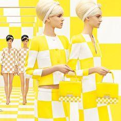 Reality Check: Louis Vuitton's New Ads Reprise Spring 2013 Runway Set @Louis Vuitton
