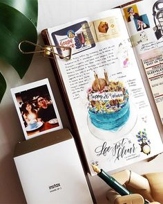 Journal entry for my 26th birthday celebration this year - so thankful for all the love, especially for this gorgeous cake that @wilsonsiew ordered for me ❤️ #fujifilmmy #instaxmy #ronnycakesTN
