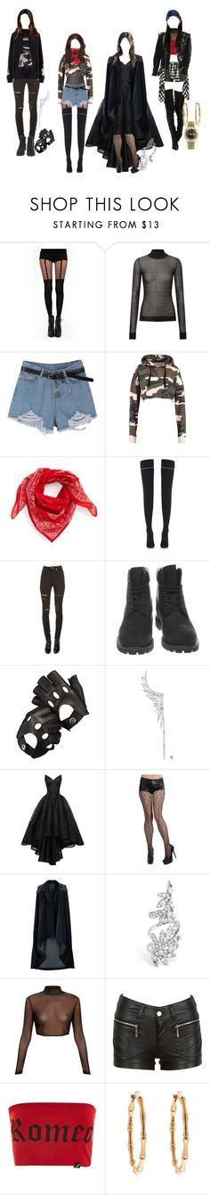 """""""Stage outfits"""" by elliepetkova ❤ liked on Polyvore featuring Pamela Mann, Roland Mouret, Madewell, Vetements, Yves Saint Laurent, Timberland, Hood by Air, Aspinal of London, Cristina Ortiz and Zac Posen"""