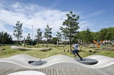Parque Olímpico Drapers Field / Kinnear Landscape Architects