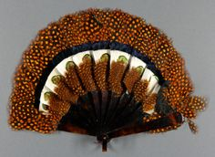 Fan  Artist/maker unknown, American  Geography: Made in United States, North and Central America Date: 1900 Medium: Pheasant feathers; tortoiseshell