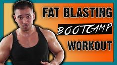 10 Minute Fat Blasting Full Body Dumbbell Workout :: HIIT Bootcamp Worko...