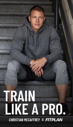 Christian Mccaffery, Cute Football Players, Beautiful Men Faces, Muscle Body, Gym, Sports Photos, Carolina Panthers, Big Men, Sport Man