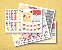 Pokemon EC Planner Stickers matte or glossy by lepaperhouse